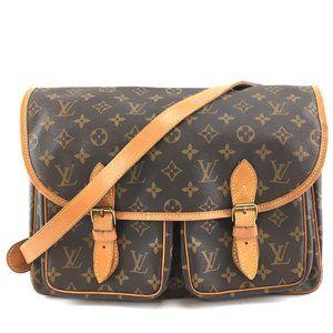 Louis Vuitton Sac Gibeciere Mm Messenger Crossbody